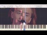 Блюз - Земфира (Сосунов Михайло) (Ноты и Видеоурок для фортепиано) (piano cover)