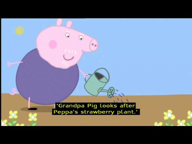 Peppa Pig (Series 1) - Gardening (with subtitles)