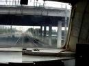 Сюрприз с последним поездом, машинист веселится
