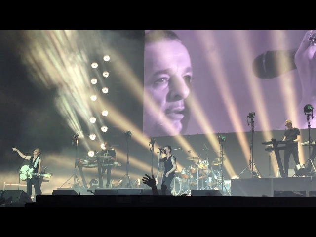 "Depeche Mode, Madrid 2017, WiZink Center, ""Never lebt me down again"""