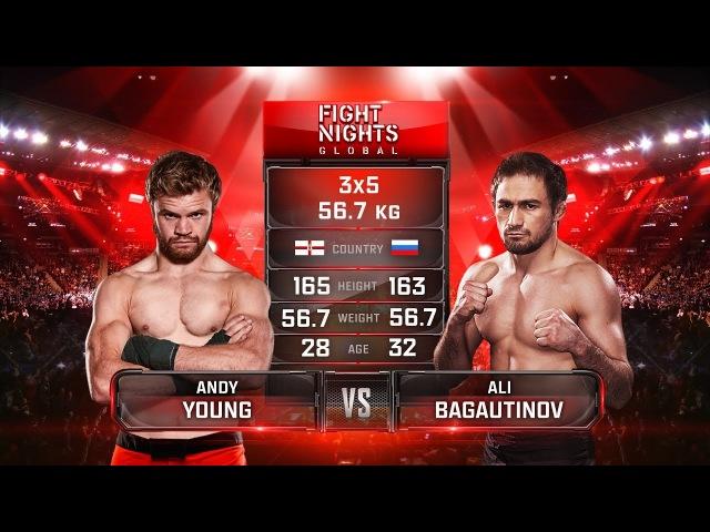 Andy Young vs. Ali Bagautinov / Энди Йонг vs. Али Багаутинов