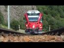 Bernina Express Führerstand Tirano → St Moritz