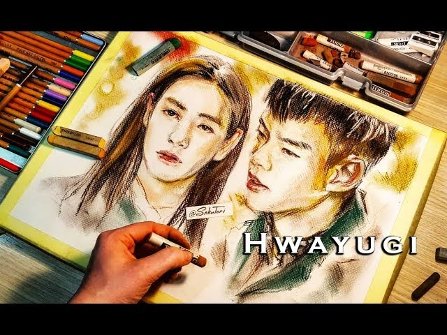 [Hwayugi] Oh YeonSeo Lee SeungGi Speed Drawing by SakuTori