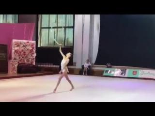 Таисия Мосолова Обруч - Чемпионат Украины Винница 2017