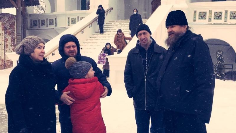 Поездка добровольцев Социального центра святителя Тихона в Иосифо-Волоцкий монастырь