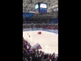 Что происходило на трибунах, когда наши хоккеисты забили победный гол сборной Германии