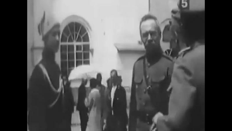 Фрагмент з параду сердюцького кінно - козацького полку 1918 р.