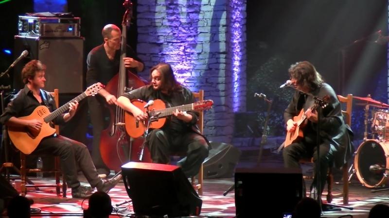Luis Salinas - Yamandú Costa - Sylvain Luc 2016 Nuits de la Guitare de Patrimonio