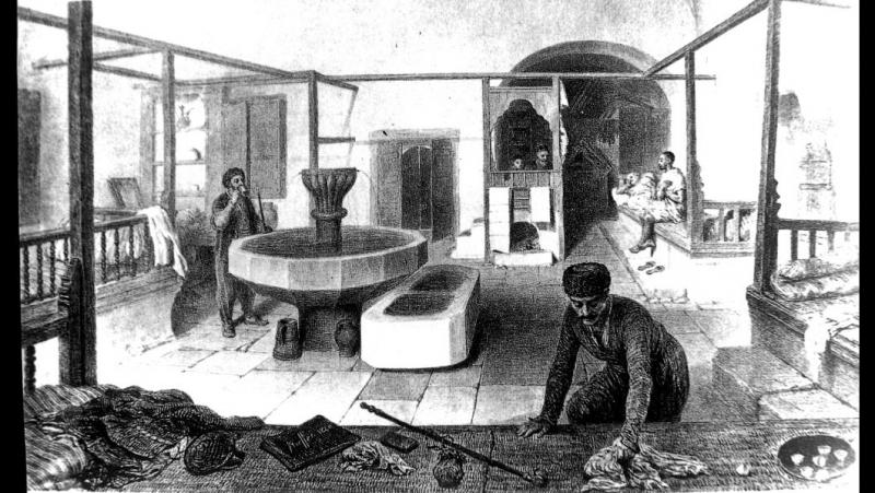Крымские татары мылись глиной