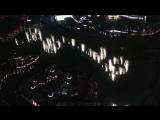 Фонтан в Дубае под песню Уитни Хьюстон I Will Always Love You