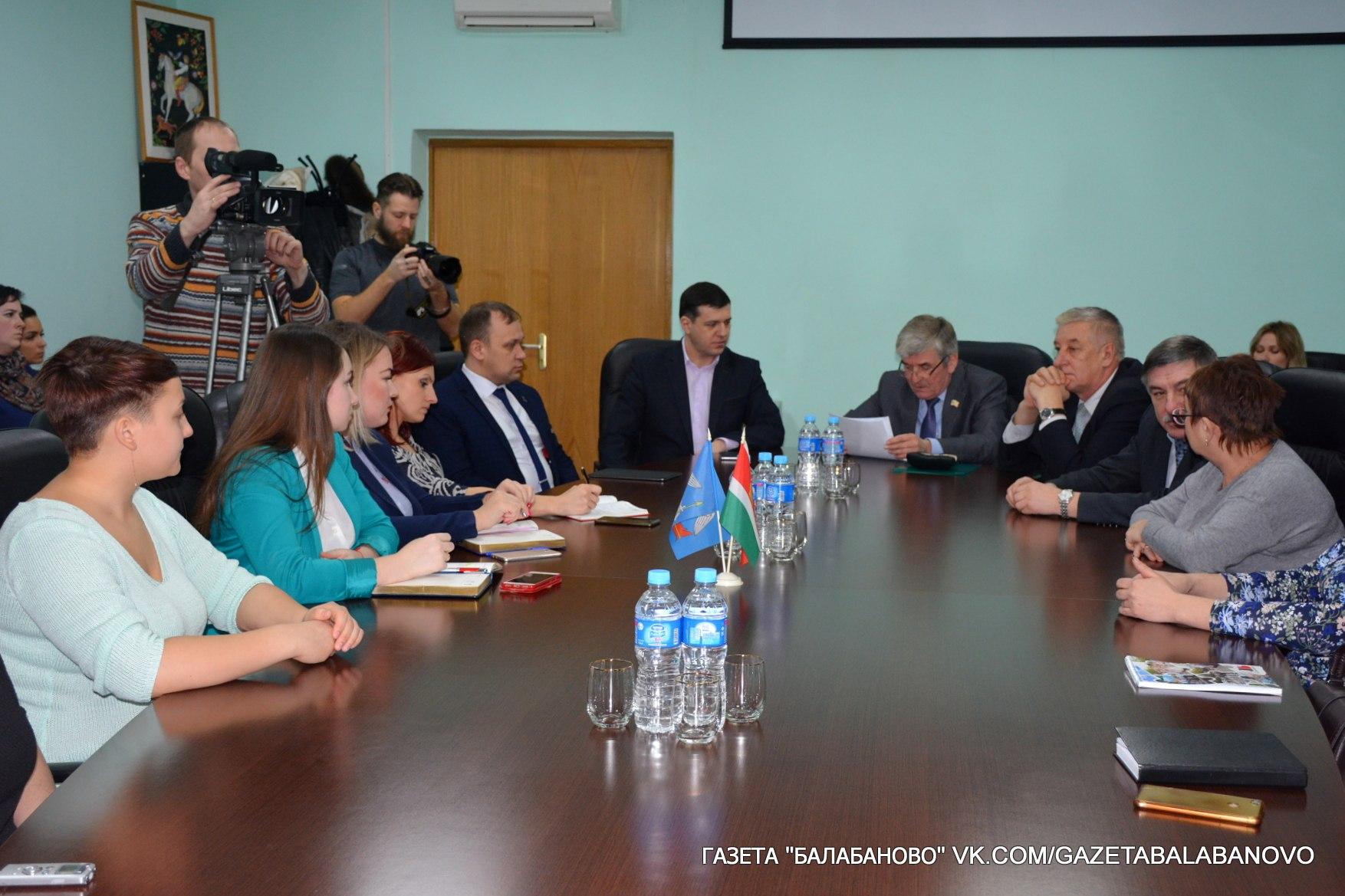 Заместитель председателя Законодательного Собрания Калужской области встретился с молодежью Боровского района