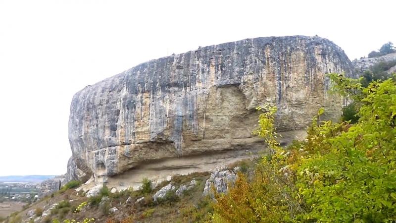 Крым,Бахчисарай,Качи-Кальон - экскурсия в пещерный монастырь (Kachi-Kalyon).