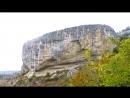 Крым,Бахчисарай,Качи-Кальон - экскурсия в пещерный монастырь Kachi-Kalyon.