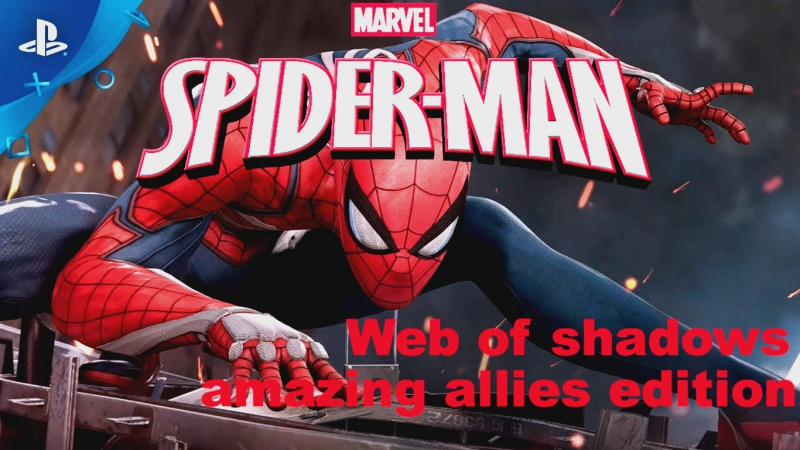 Spiderman Web of shadows - amazing allies edition 2.5D RUS [ PCSX2 1.5.0 DX-11 ].169HD.720.p