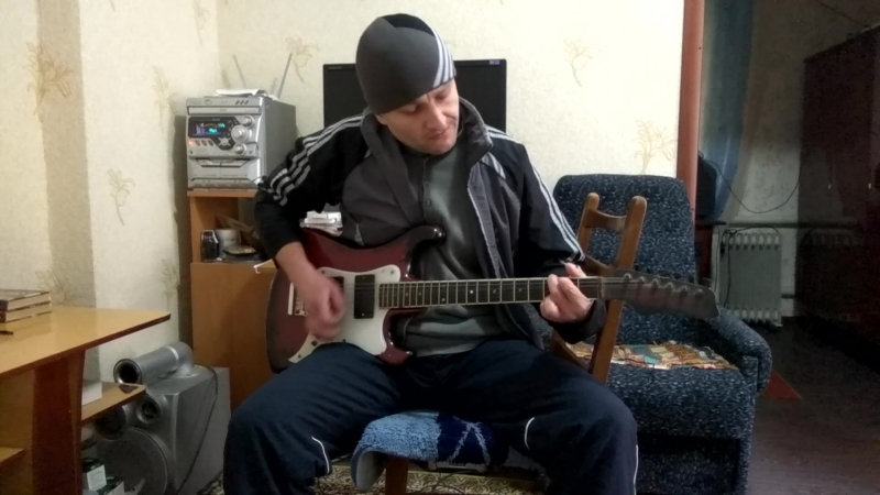 AC/DC - You Shook Me All Night Long.Rhythm guitar cover.