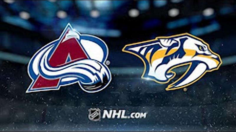 НХЛ - регулярный чемпионат. Нэшвилл Предаторз - Колорадо Эвеланш - 5:2 (1:0, 2:0, 2:2)