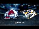 НХЛ - регулярный чемпионат. Нэшвилл Предаторз - Колорадо Эвеланш - 52 10, 20, 22