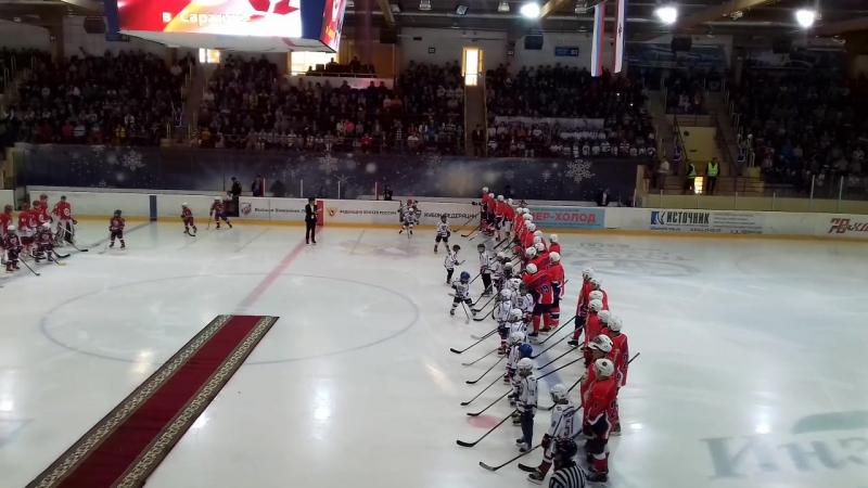 Матч Легенды хоккея СССР - Ветераны хоккея Мордовии