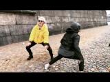 Танцевальная лихорадка от Насти и Глеба