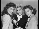 The Andrews Sisters - Ill Be With You In Apple Blossom Time 1941