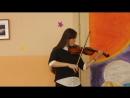 Концерт на День учителя 05.10.2017. Алена Антипова - 2 - 9 класс.