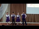 Квартет мальчиков и девочек 2 класса МАОУ СОШ №15 поёт зажигательную татарскую песню