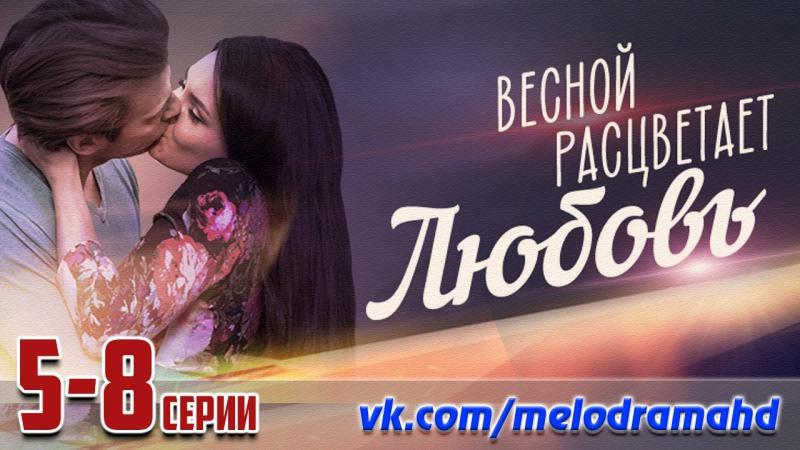Весной расцветает любовь / 2014 (мелодрама). 5-8 серии из 20