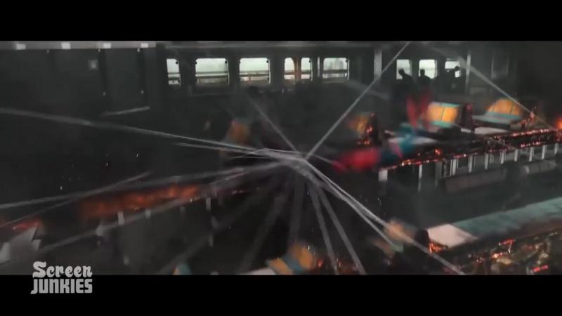 Честный трейлер - Человек паук- Возвращение домой