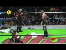 Jun Kasai Crazy King vs Ciclope Miedo Extremo Death Match