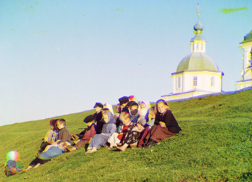 RlcI9wc96U - Родина Сергея Прокудина-Горского: Российская империя в цвете