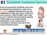Most insane way to gain the Facebook customer service 1-850-316-4893 straight away