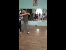 импровизация и связка Миша и Сабина