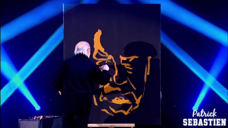 Портрет Габена в исполнении Жан-Пьера Бланшара