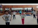 ТРЕНИРОВКА. 5 летние гимнастки.