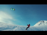 Are you ready for some real snowkite action?