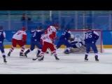 Хоккей. Словакия-Россия 2:2. Обзор после первого периода