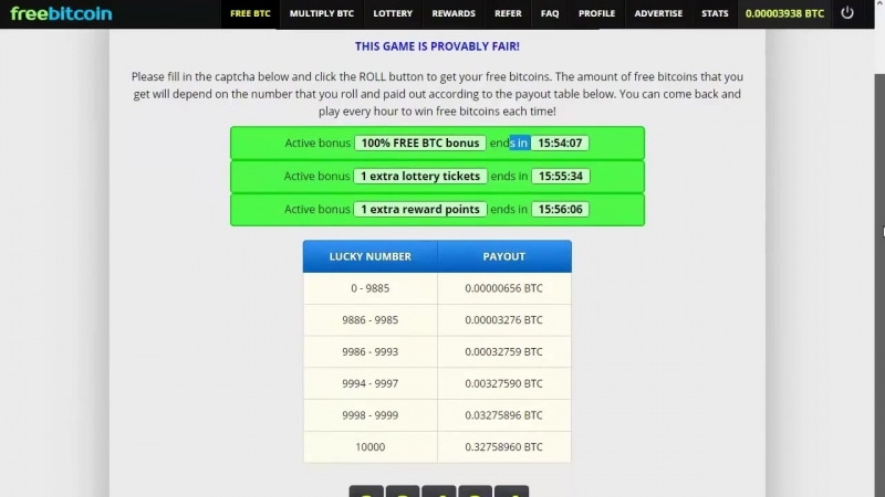 Freebitco.in регистрация, обзор, увеличение дохода