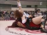 Nanae, Hamada vs. Stevens, Sawai