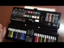 художественный набор для рисования,творчество, 92 предмета в кейсе