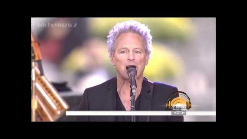 HD Fleetwood Mac - The Chain - Today Show 10.09.2014