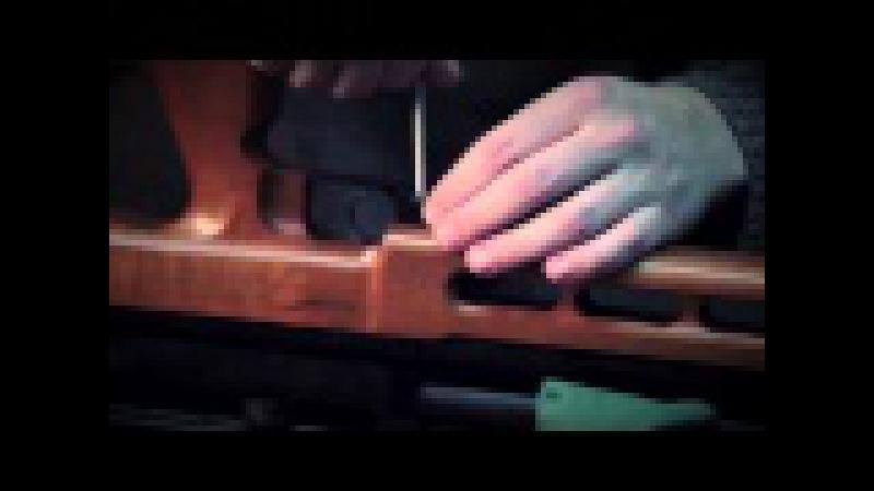 Russian Airgun TV. Разборка и сборка Edgun Matador Standart. Часть 3 (снятие и установка ложа).