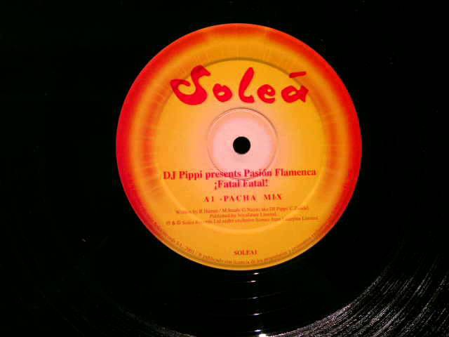 DJ Pippi Pasion Flamenca Fatal Fatal Pacha Mix Solea