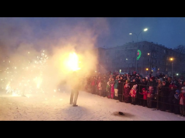 Фаер-шоу на Гиперборее 2018 в Петрозаводске