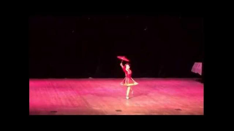 Байер Танец китайской куклы Маша Сабанова 2015