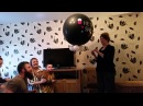 Gender reveal party balloon