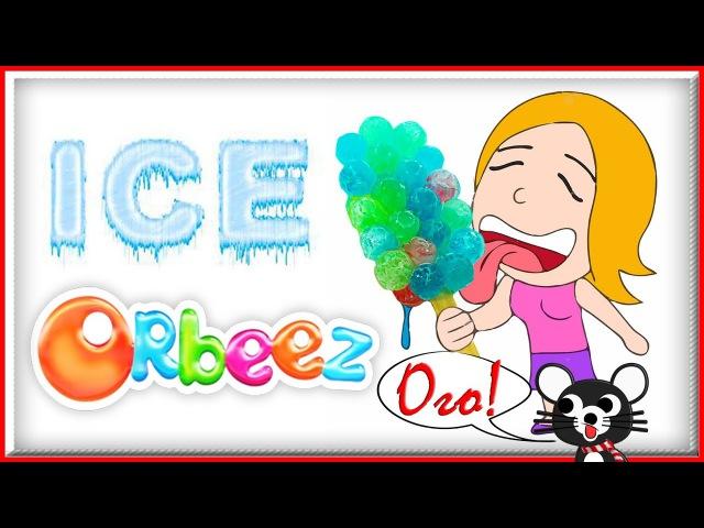 ЧТО БУДЕТ Если заморозить Орбиз Мороженое пломбир из цветных шариков Орбиз