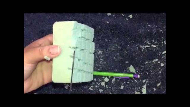 ASMR floral foam