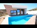 Комплекс новых недорогих вилл в Бенидорме, современная недвижимость Испании у м...