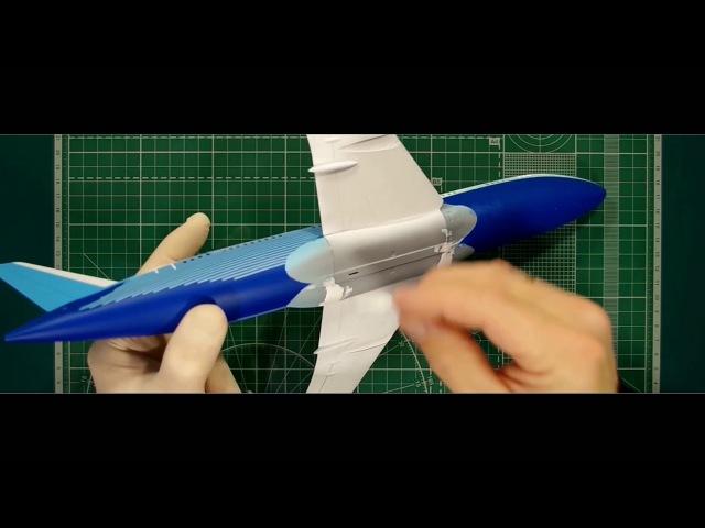 Сборка и окраска, модели Boeing 787 Dreamliner. Часть четвёртая.