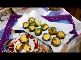Бутерброды овощные запеченные. Ужин полезный за 10 минут